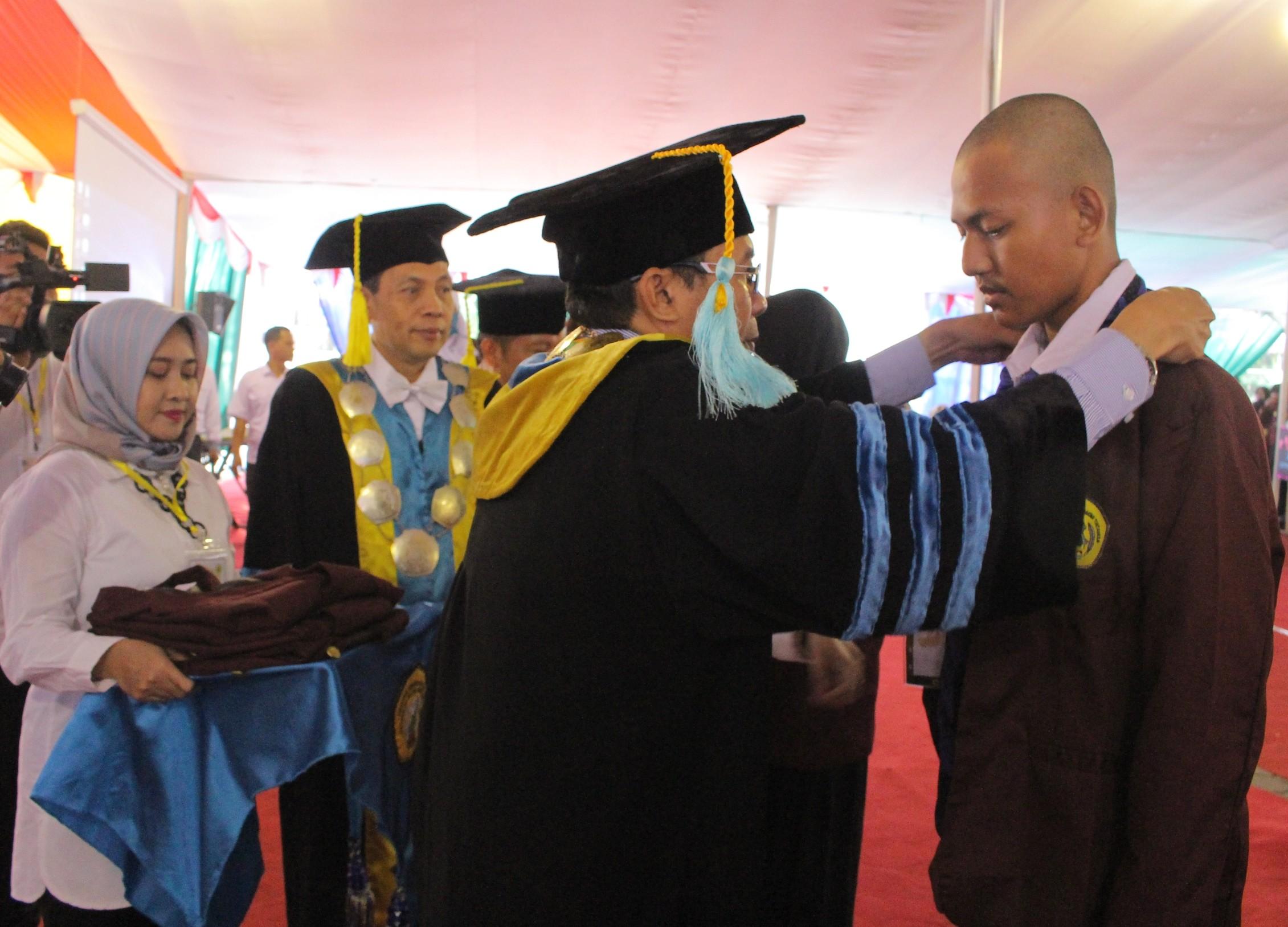3877 Orang Mahasiswa Baru Untirta Ikuti Kegiatan Pengenalan Kampus 2018